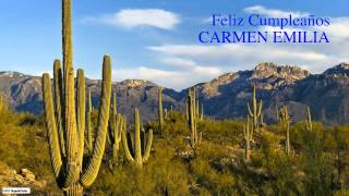 Carmen Emilia   Nature & Naturaleza - Happy Birthday