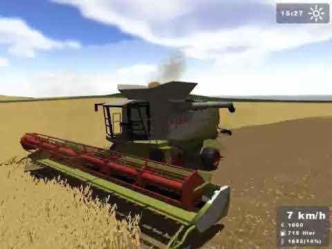 Farmer Simulator 2008 Claas Lexion 600