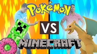 Pokemon vs Minecraft?!