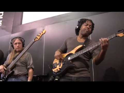 PreSonus NAMM 09- Victor Wooten, Steve Bailey & David 