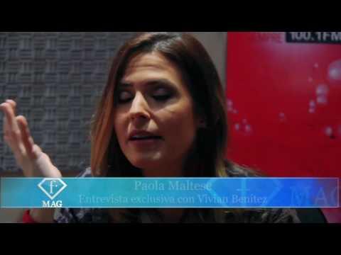 Vivían Benítez entrevista a Paola Maltese - Parte 1