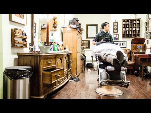The Barber Shave Tutorial (The Nomad Barber)