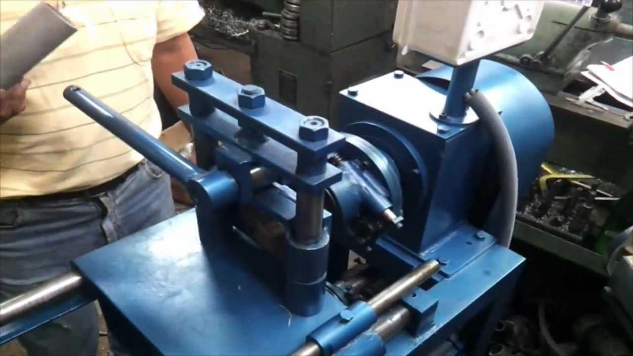 Roscadora de tubos de pvc proyectos bellido youtube - Tubos desague pvc ...