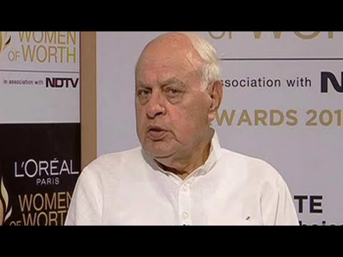 Farooq Abdullah speaks about women rights