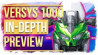 2019 Kawasaki Versys 1000 in-depth PREVIEW - Comfortable Adventure Touring