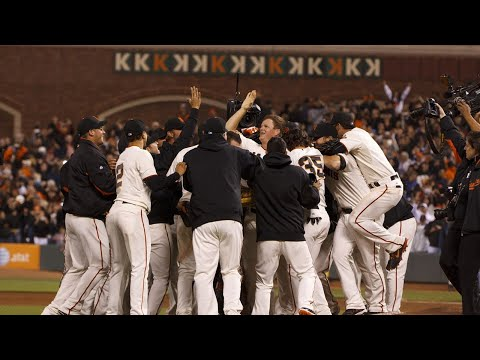 Matt Cain Perfect Game - Last Three Outs, AT&T Park 6-13-12
