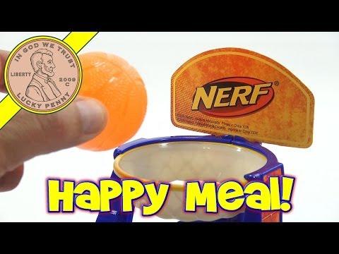 Nerf Toys 2009 Set, McDonald's Retro Happy Meal Toy Series