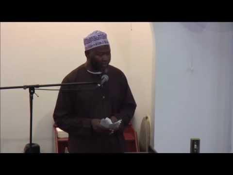Sheikh Saad Jalloh- Jummah 8/29/14