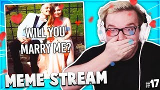 Someone PROPOSED LIVE On STREAM! - Best Of Mini Ladds MEME STREAM Compilation #17