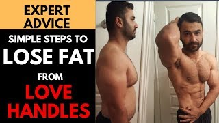 How to LOSE LOVE HANDLES FAT! (Hindi / Punjabi)