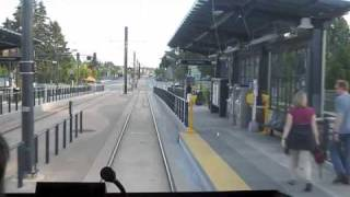 Link light rail through South Seattle (2x speed)