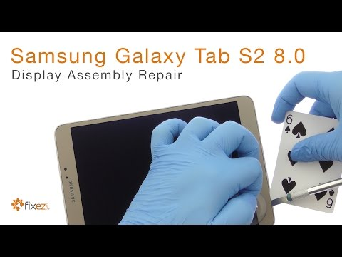 Samsung Galaxy Tab S2 8.0 Display Assembly Repair - Fixez.com