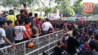 Malaysia Cup: Kedah football fans rush for tickets