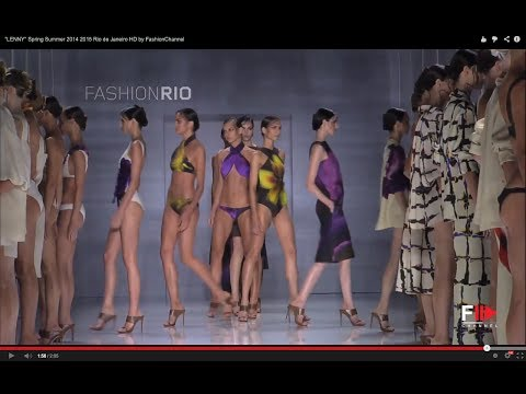 """LENNY"" Highlights HD Fashion Rio Summer 2015 by Fashion Channel"