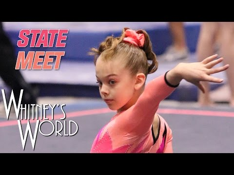 Whitney Bjerken | Level 8 State Gymnastics Meet | Beam Champion