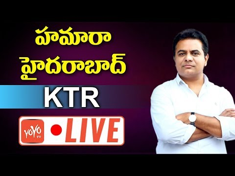 KTR Speech LIVE | Hamara Hyderabad Program At Nizampet | Telangana LIVE | YOYO TV Channel
