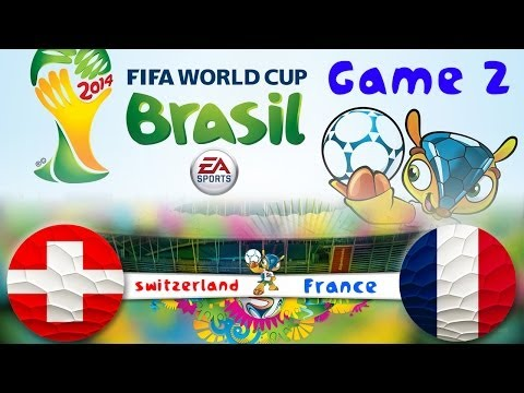 [TTB] 2014 FIFA World Cup Brazil - Switzerland Vs France - Group Stage Game 2 - Ep2