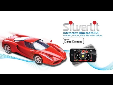 Introducing Silverlit Interactive Bluetooth RC Ferrari