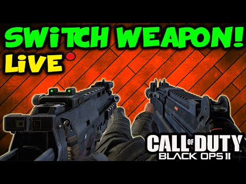 Call of Duty Black Ops 2: LIVE Insane Switch Gun Every Kill Call of Duty Black Ops 2 Gameplay
