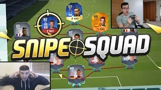 FIFA 16 SNIPE SQUADS!!! TEAM OF THE SEASON FUNES MORI!!! New Fifa 16 Squad Challenge
