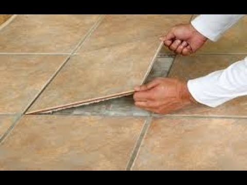 How to replace a single cracked or broken ceramic floor TILE