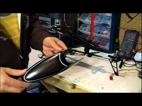 SN Hobbies - KDS 450S Helicopter with Flymentor Flight Stabilization