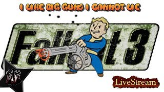 Fallout 3 Very Hard Difficulty. I Like Big Guns I Cannot Lie | XBox One X BC