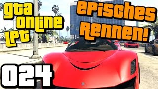 GTA 5 ONLINE PS4 Gameplay LPT S2 #024 Mein spannendstes Autorennen ever (Gameplay German Deutsch)