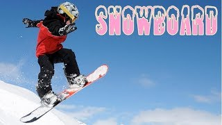 Let's Ride Snowboard - Funny Education For Kids