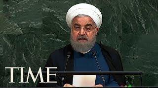 Iranian President Calls President Trump