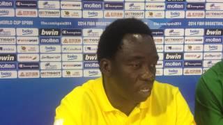 Basketball - Mondial Espagne 2014 | Réaction de Cheikh Sarr après la 2nde victoire