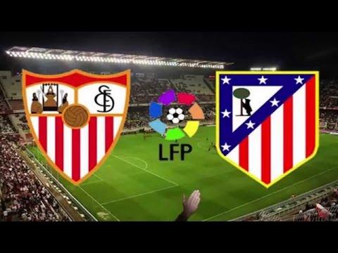 Atletico Madrid Vs Sevilla FC 0-0 (24/1/2016) - All Goals & Highlights