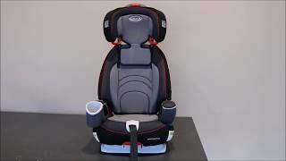 Transitioning Graco® Nautilus™ 65 from Harness to Highback Belt-Positioning Mode