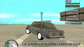 Carro Lada VAZ 2106 para o jogo GTA San Andreas
