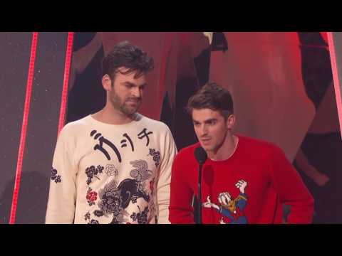 The Chainsmokers Acceptance Speech | iHeartRadio Music Awards 2017