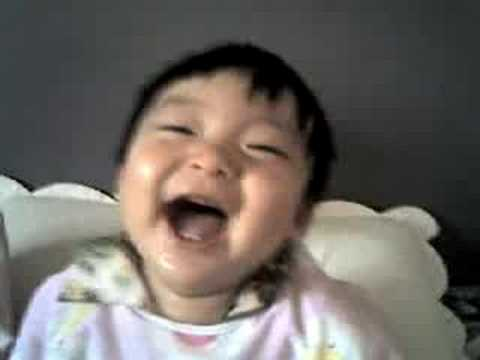 Cute Baby Boy Laughing