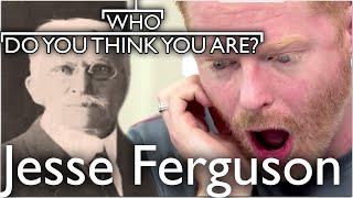 Modern Family's Jesse Tyler Ferguson Discovers Dark Past | Who Do You Think You Are