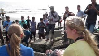 American Girls at Patenga Beach (Chittagong, Bangladesh)