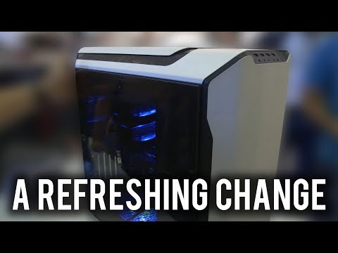 Cooler Master's new case has BOTTOM-mounted 200mm fans!