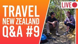 New Zealand Travel Q&A - Beginner Surf Spots + New Zealand Travel Insurance + Campervan Life in NZ