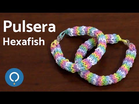 Pulsera de gomitas Hexafish