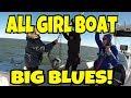 Girls fishing in Texas w Guide  Teri Littlejohn 2017
