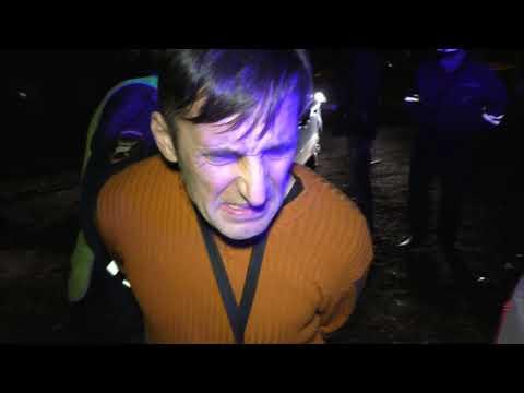 Пьяный сотрудник МЧС устроил погоню, ДТП и пытался скрылся. Место происшествия 02.10.2017