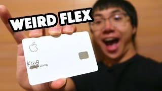 HOW TO FLEX YOUR APPLE CARD