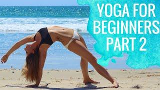 Yoga For Beginners | Sun Salutations for Beginners Part 2