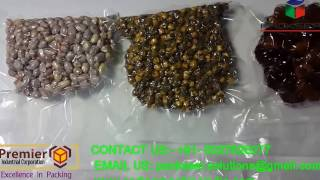 vacuum sealing machine for vacuum packing dry fruits cashew nut almond