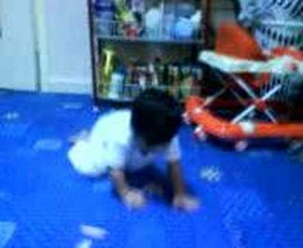 Nathan Crawling