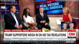 Trump supporters destroy CNN stooge Alisyn Camerota (even bring up Bill