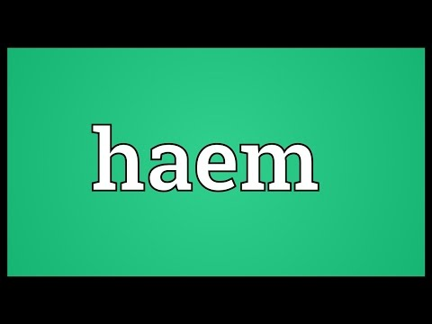 Header of haem
