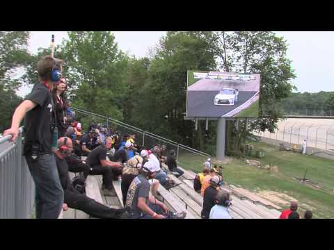 Road America fans love our new jumbo screens.